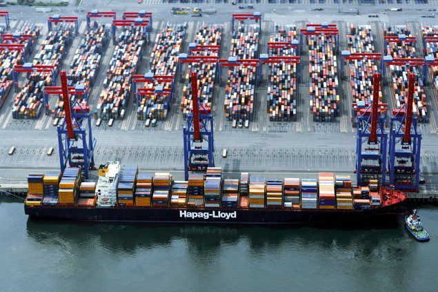 Shanghai Express port of hamburg hapag lloyd
