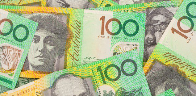 australian dollar bills