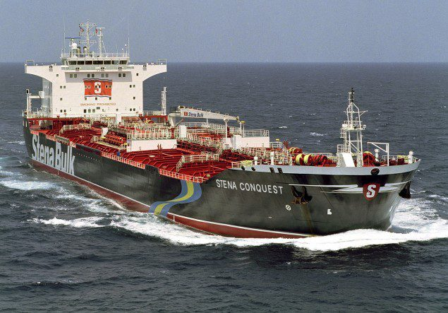 stena conquest mr tanker medium range