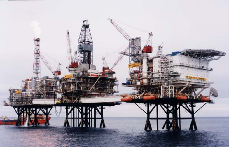 BP Ula north sea