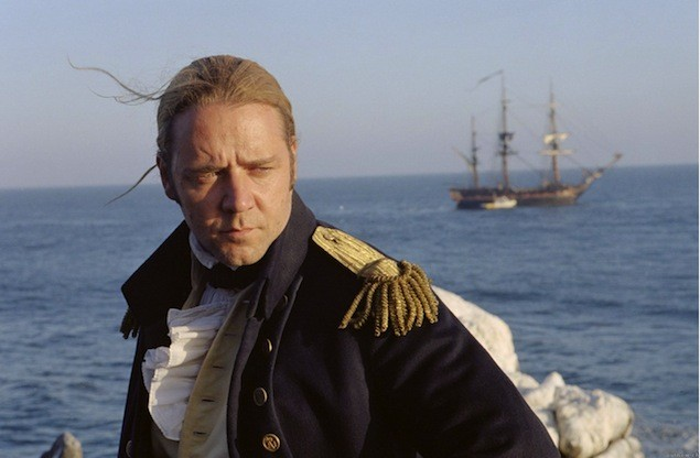 "Sure Russell Crowe can ""Master and Command"" British warships, but that's only in the movies."