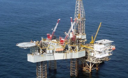 File photo of a W&amp;T Offshore platform.