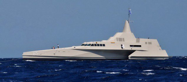 indonesia trimaran kri klewang