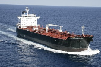 OSG's Jones Act tanker, MT Overseas Los Angeles. Photo: Overseas Shipholding