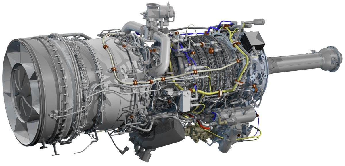 rolls royce mt7 gas turbine engine