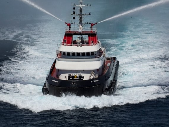 An Ocean Class tug. Photo: Crowley