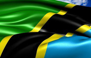 tanzanian flag tanzania