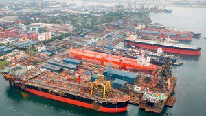 keppel offshore and marine shipyard