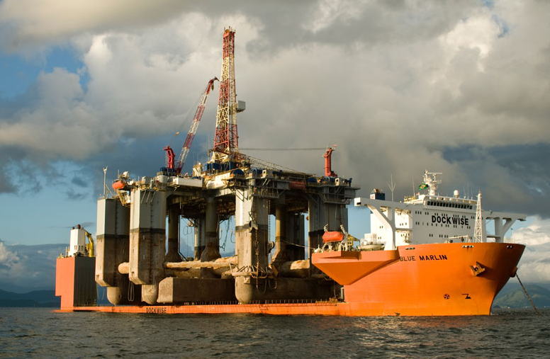 Dockwise's Blue Marlin. Photo: Dockwise
