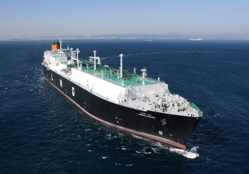 The LNG Carrier Abdelkader built Hyundai Heavy and selected as one of the worlds best ships in 2010.