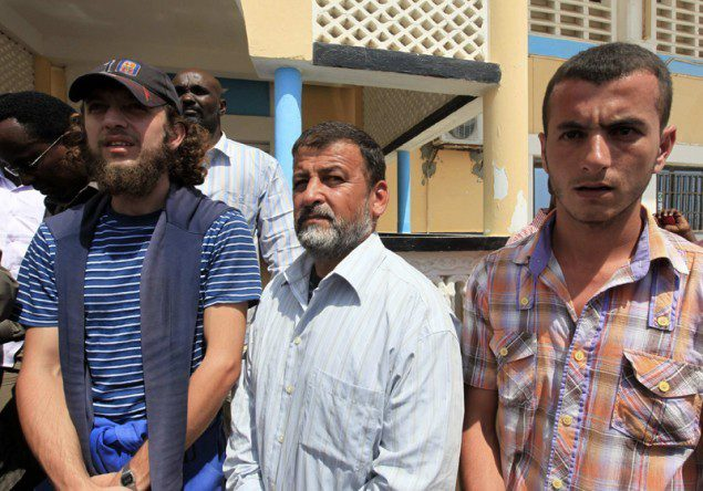 syrian hostages piracy somalia