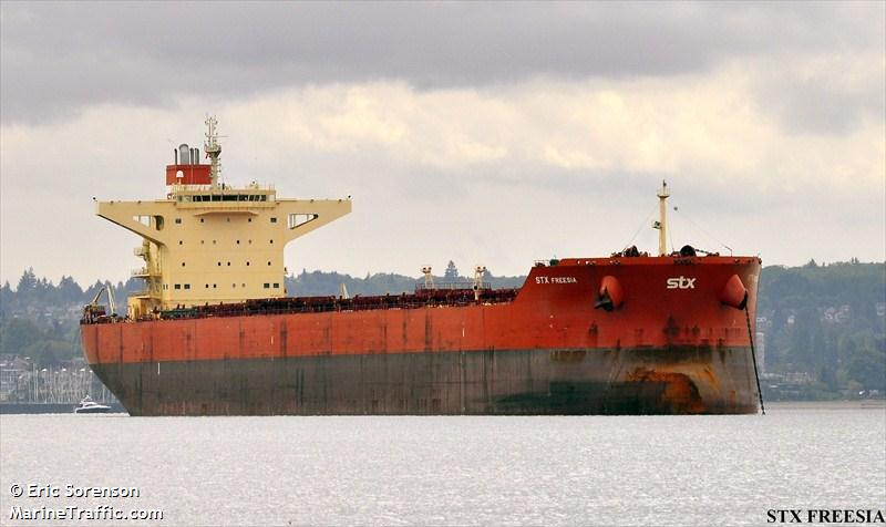 stx freesia bulk carrier