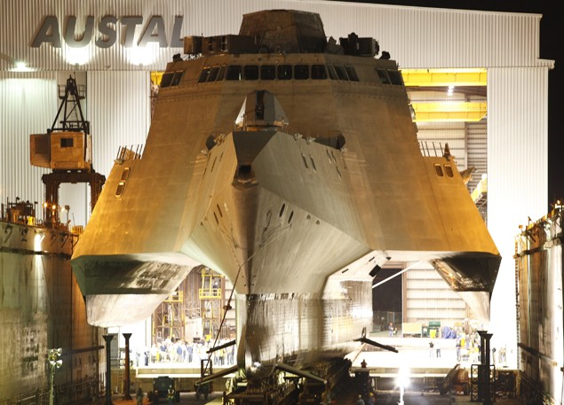 lcs 2 uss independence austal shipbuilding