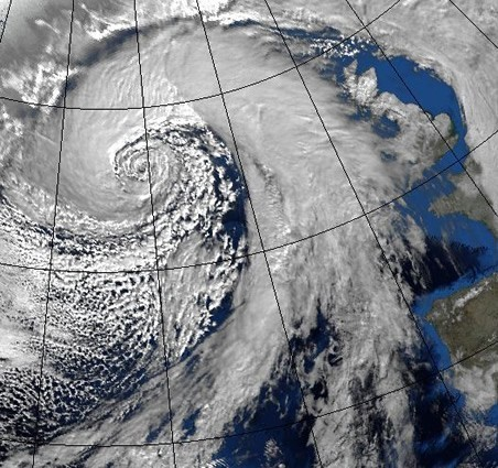 north atlantic storm