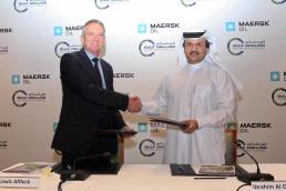 Maersk oil qatar gulf drilling