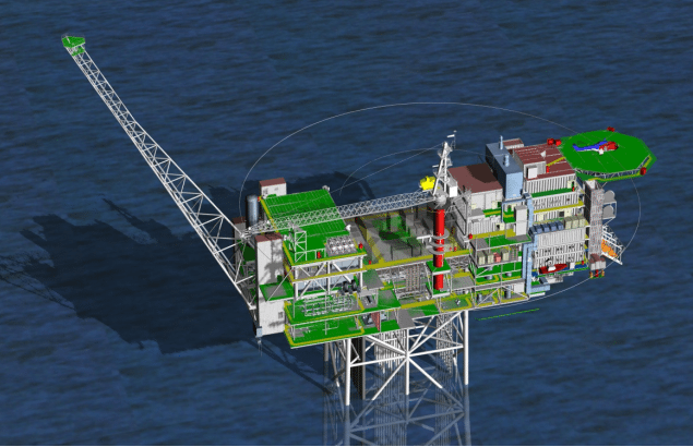 offshore platform topsides north sea
