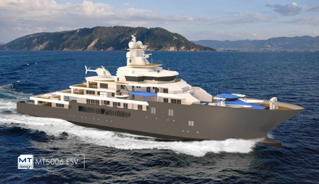 The vessel will be built to a MT5006 ESV.