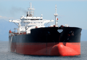 Each year, 80 million tonnes of oil are shipped off Canadas east and west coasts. Image courtesy Transport Canada