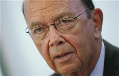 Wilbur Ross, chairman and CEO of WL Ross & Company LLC, speaks at the 2009 Reuters Restructuring Summit in New York September 29, 2009. REUTERS/Mike Segar