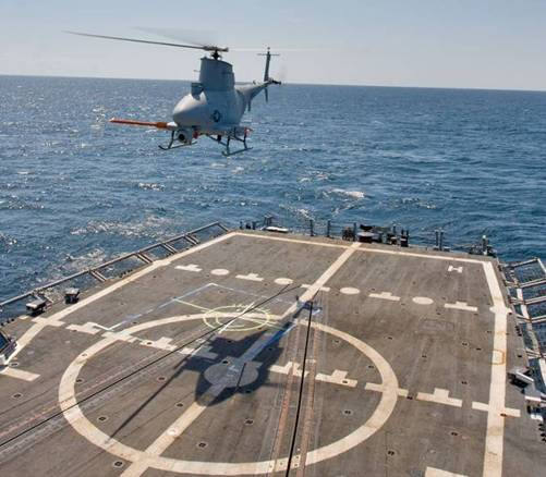 Navy MQ-8B Fire Scout