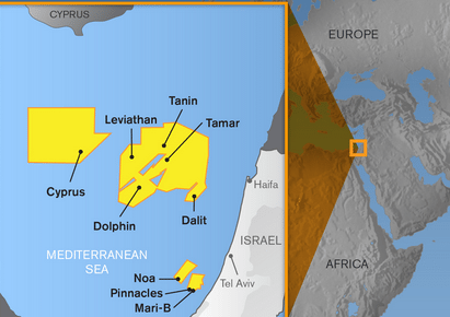 Noble energy offshore israel tamar