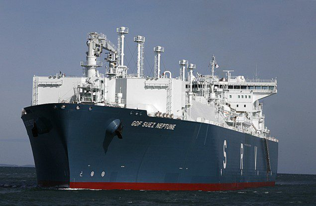 GDF SUEZ Neptune FSRU