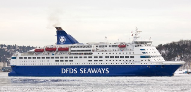 dfds seaways crown of scandinavia
