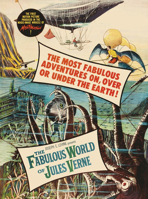 The Fabulous World of Jules Verne (Warner Brothers, 1961)