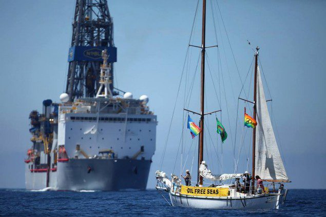 greenpeace anadarko vega new zealand bob douglas noble
