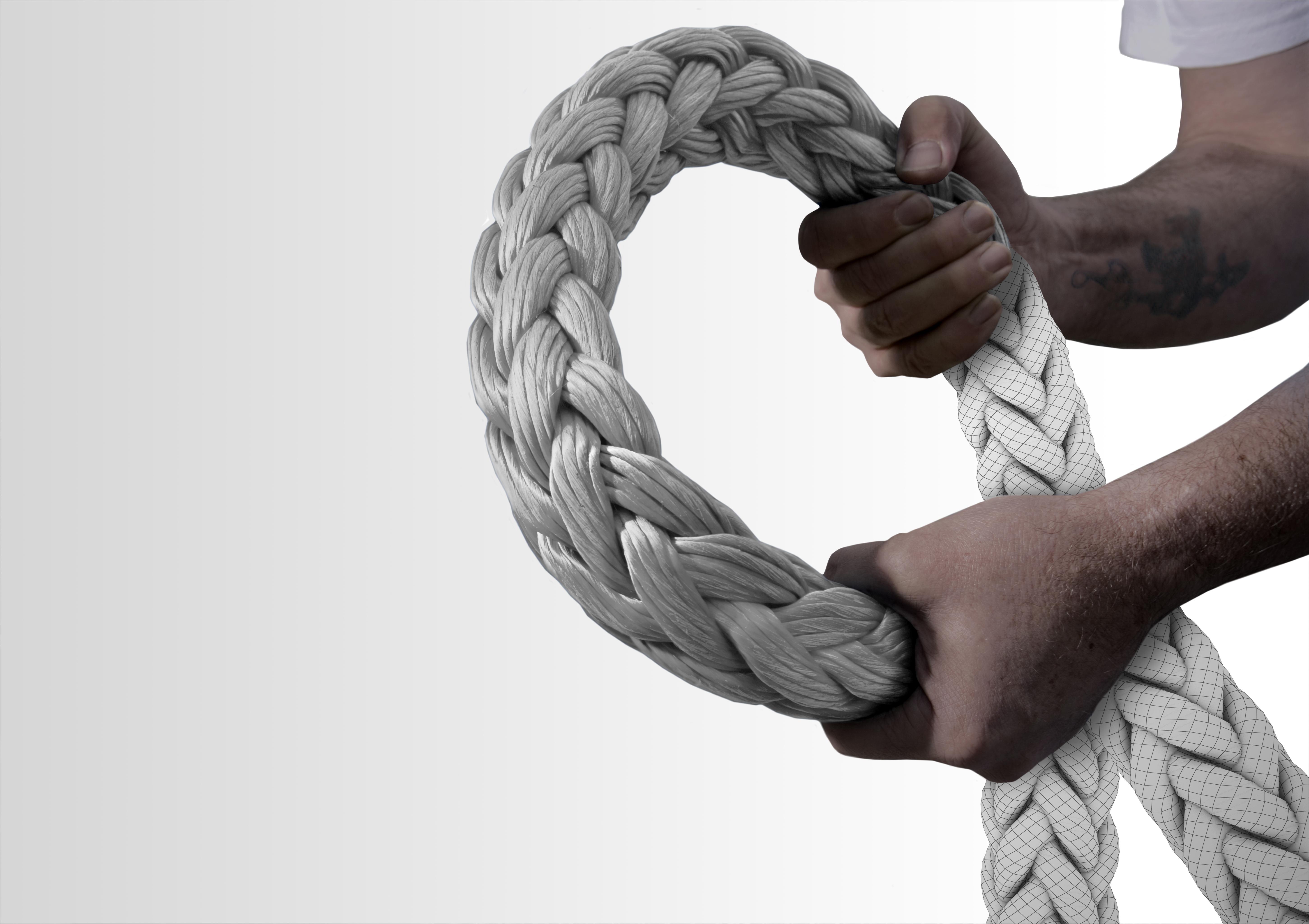 Dyneema HMPE Mooring Rope